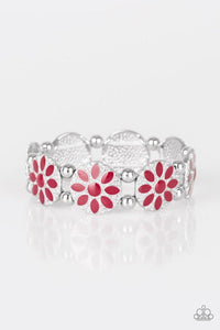 Paparazzi Accessories ~ Dancing Dahlias - Red