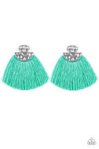 Paparazzi Earring ~ Make Some PLUME - Green