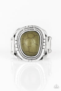 Paparazzi Ring ~ Out On The Range - Green