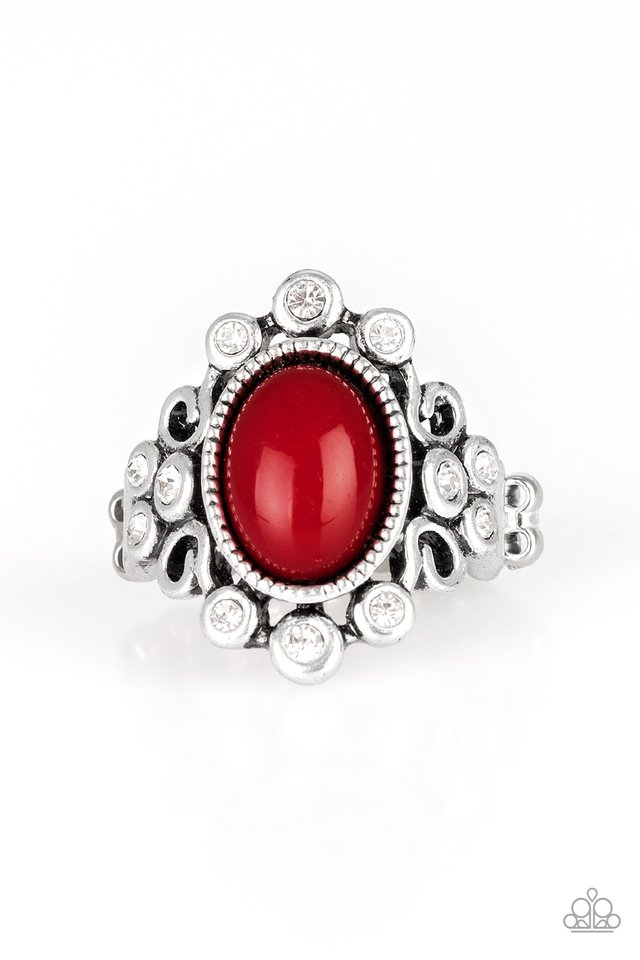 Paparazzi Ring ~ Noticeably Notable - Red