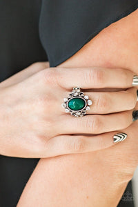 Noticeably Notable - Green - Paparazzi Ring Image