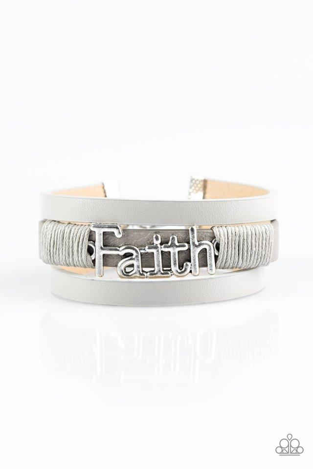 Paparazzi Accessories ~ An Act Of Faith - Silver