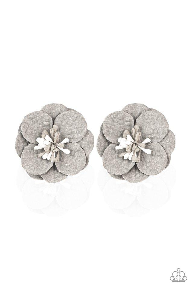 Paparazzi Accessories ~ Serene In Sweet Pea - Silver