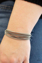 Load image into Gallery viewer, Paparazzi Bracelet ~ Mainstream Maverick - Silver
