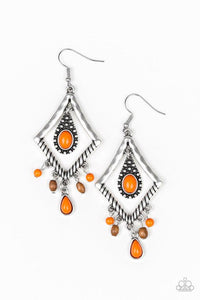 Paparazzi Accessories ~ Southern Sunsets - Orange