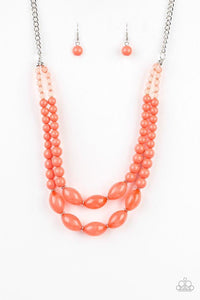 Paparazzi Accessories ~ Sundae Shoppe - Orange