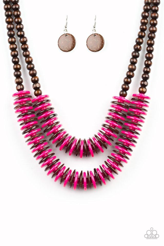Paparazzi Accessories ~ Dominican Disco - Pink