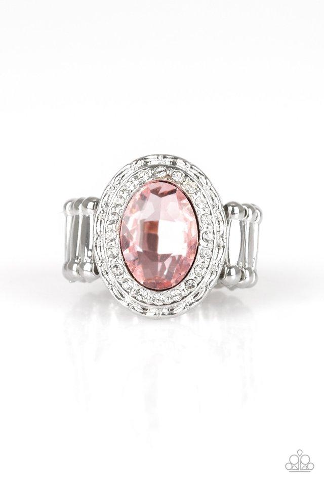 Paparazzi Ring ~ Fiercely Flawless - Pink