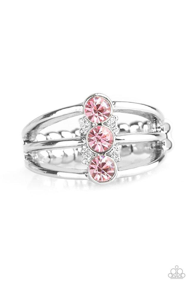 Paparazzi Ring ~ Triple Crown Winner - Pink