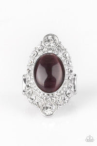 Paparazzi Ring ~ Riviera Royalty - Purple