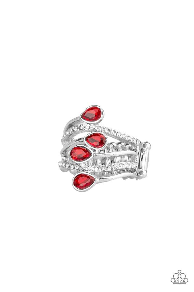 Paparazzi Ring ~ Bling Dream - Red