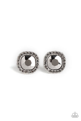 Bling Tastic! - Silver - Paparazzi Earring Image