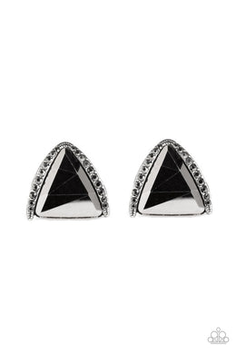 Exalted Elegance - Silver - Paparazzi Earring Image