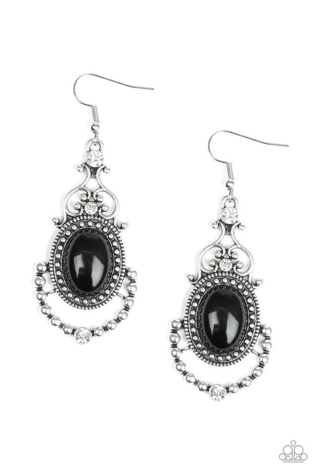 Paparazzi Accessories ~ CAMEO and Juliet - Black
