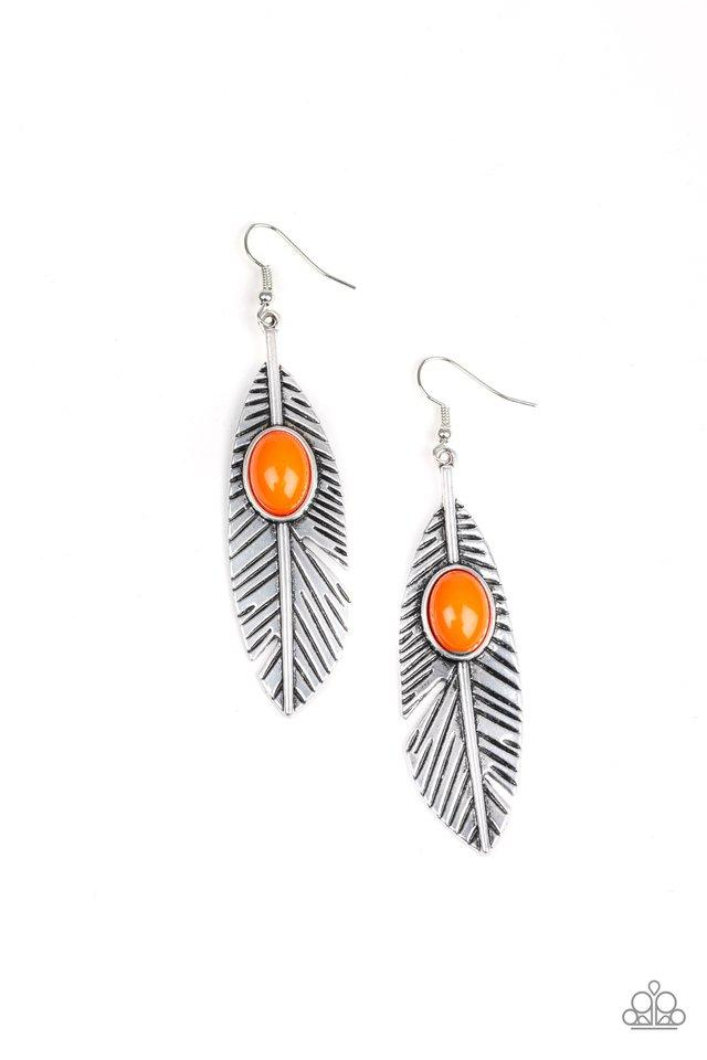 Paparazzi Accessories ~ Quill Thrill - Orange