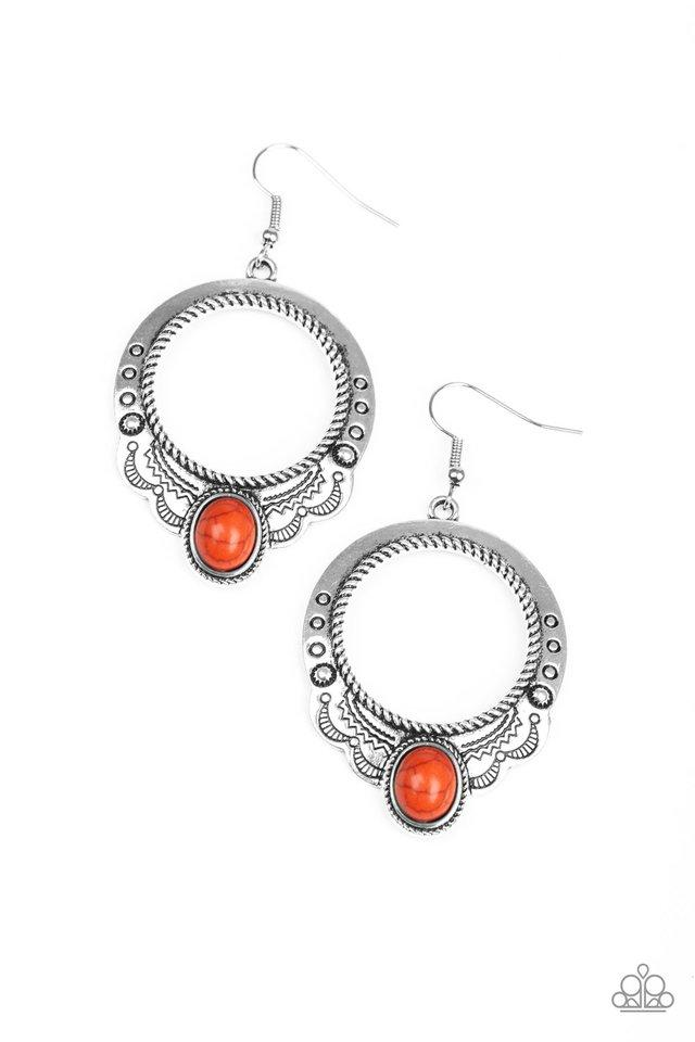 Paparazzi Accessories ~ Natural Springs - Orange