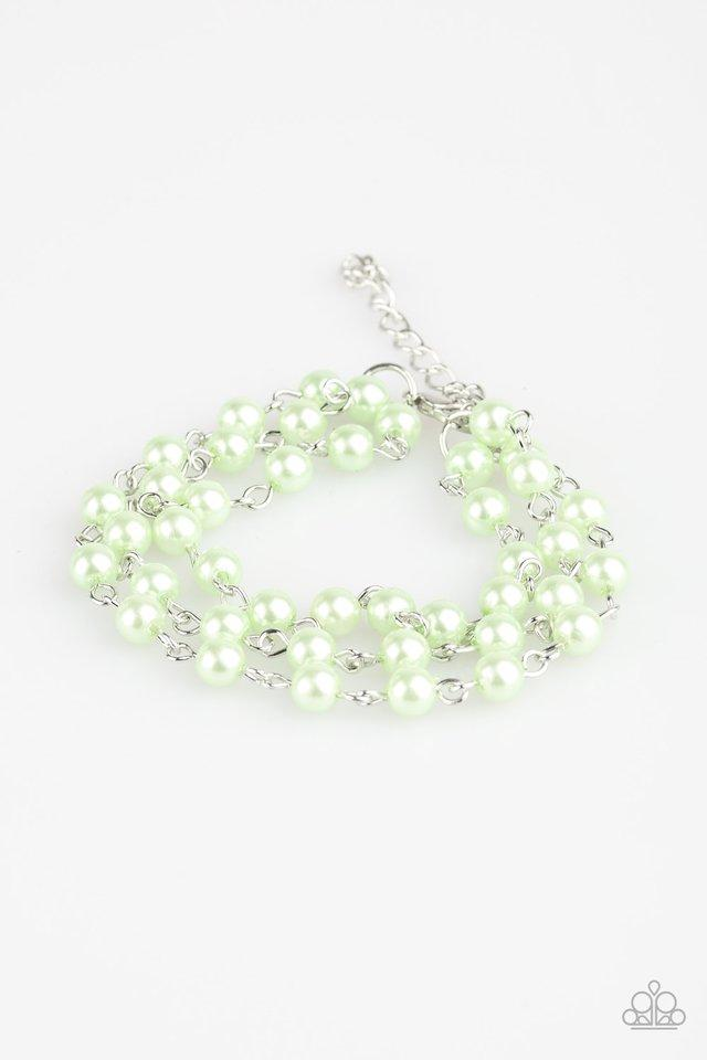 Paparazzi Accessories ~ Stage Name - Green