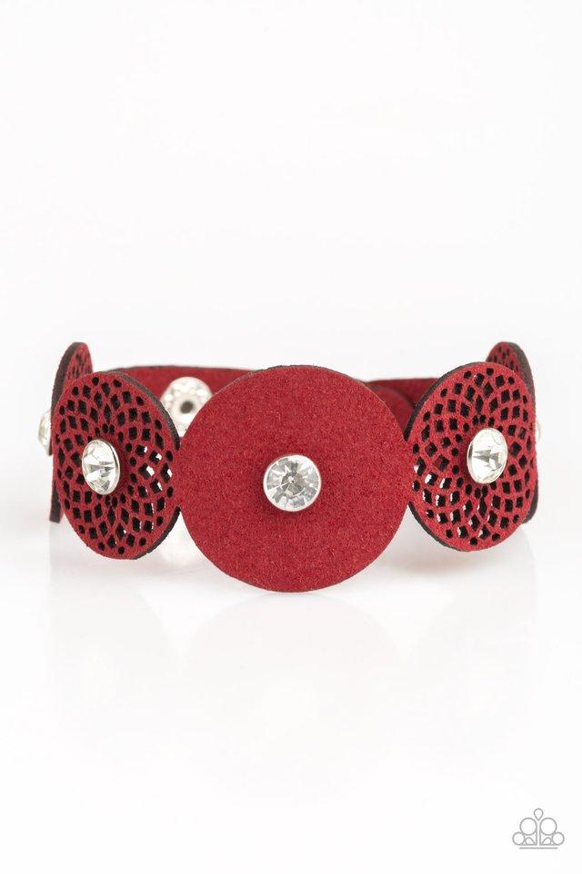 Paparazzi Accessories ~ Poppin Popstar - Red
