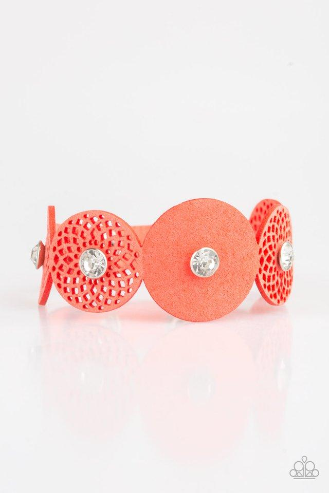 Paparazzi Accessories ~ Poppin Popstar - Orange