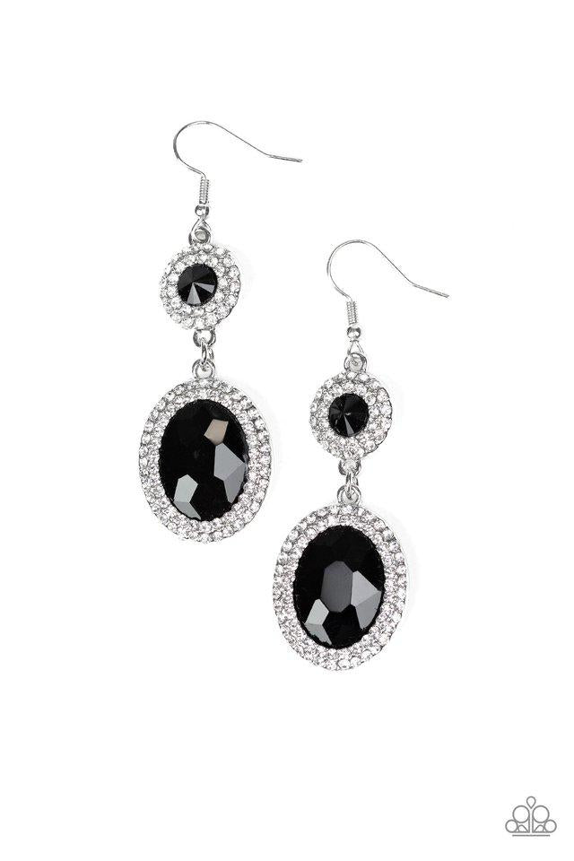 Paparazzi Accessories ~ Let It BEDAZZLE - Black