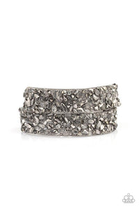 Paparazzi Accessories ~ CRUSH To Conclusions - Silver