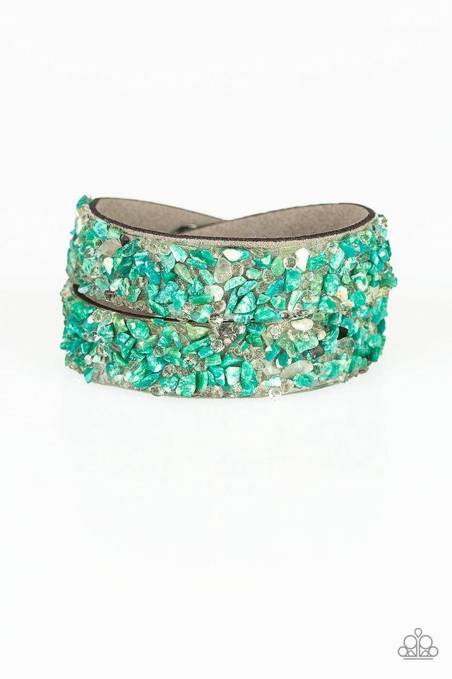 Paparazzi Accessories ~ CRUSH To Conclusions - Green