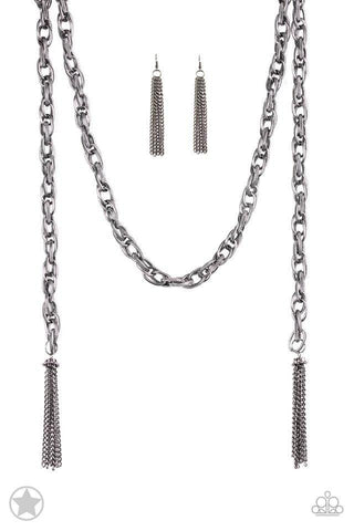 Gunmetal Paparazzi Necklaces
