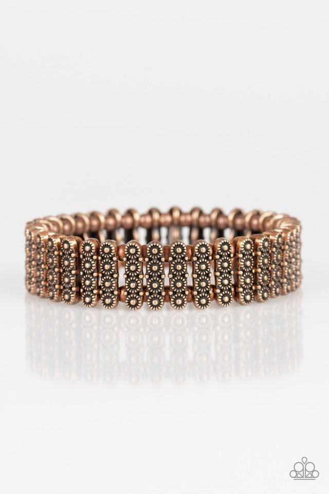 Paparazzi Bracelet ~ Rise With The Sun - Copper