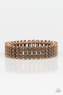 Rise With The Sun - Copper - Paparazzi Bracelet Image