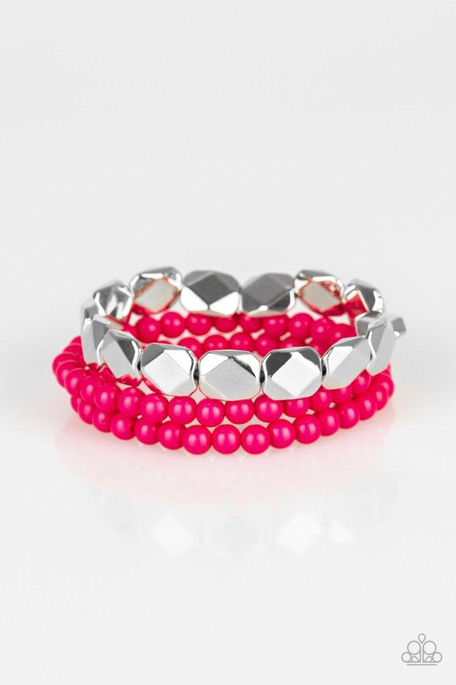 Paparazzi Accessories ~ Fiesta Flavor - Pink
