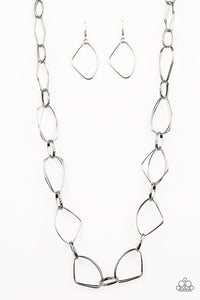 Paparazzi Accessories ~ Attitude Adjustment - Silver