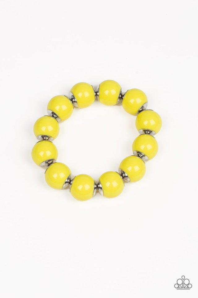 Paparazzi Accessories ~ Candy Shop Sweetheart - Yellow