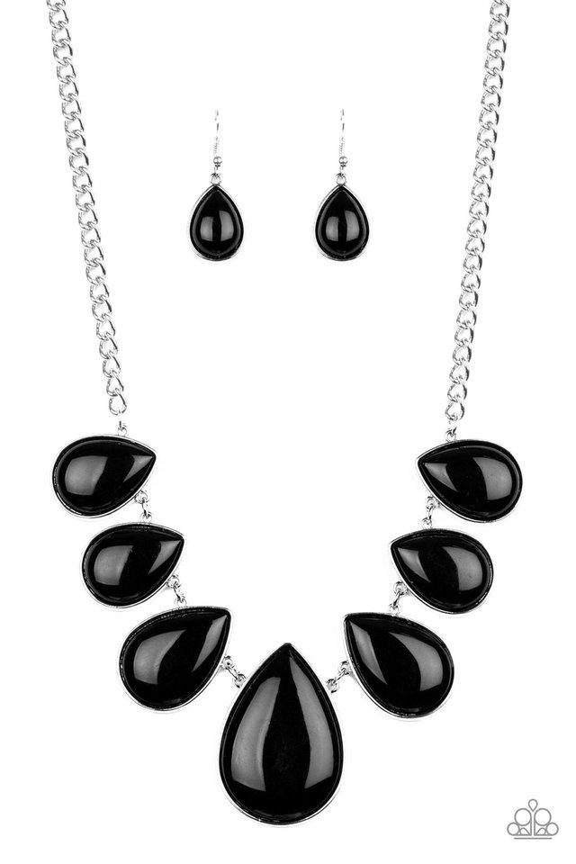 Paparazzi Accessories ~ Drop Zone - Black