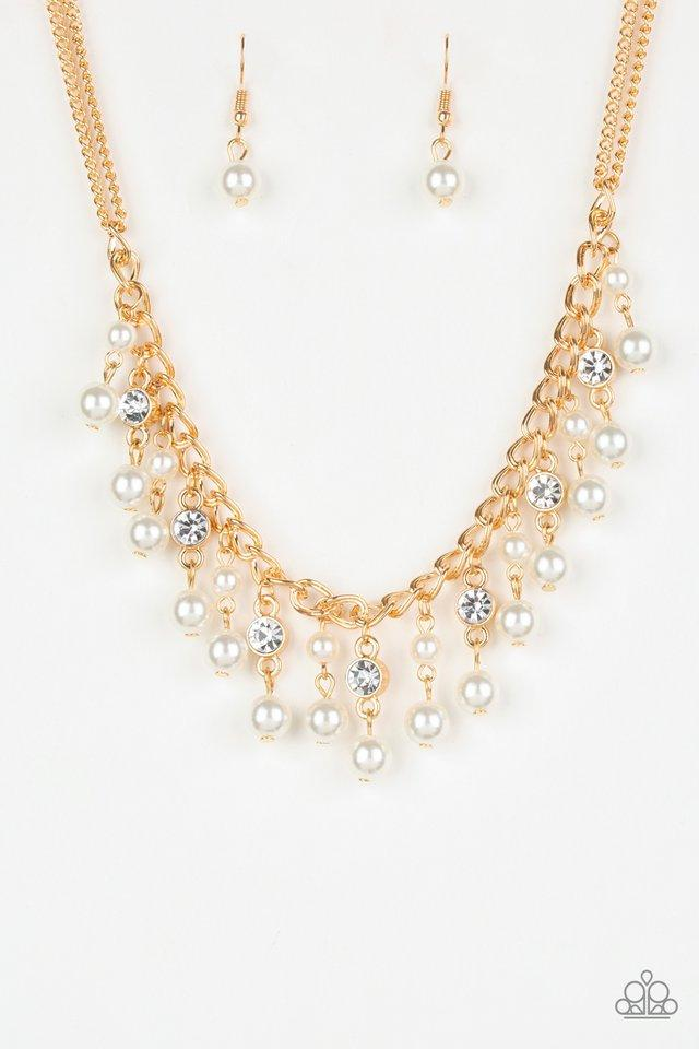Paparazzi Necklace PREORDER ~ Regal Refinement - Gold