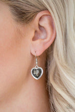 Load image into Gallery viewer, Paparazzi Earring ~ Real Romance - Silver