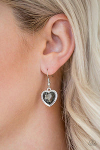 Paparazzi Earring ~ Real Romance - Silver