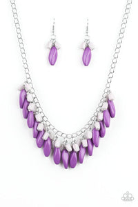 Paparazzi Accessories ~ Bead Binge - Purple