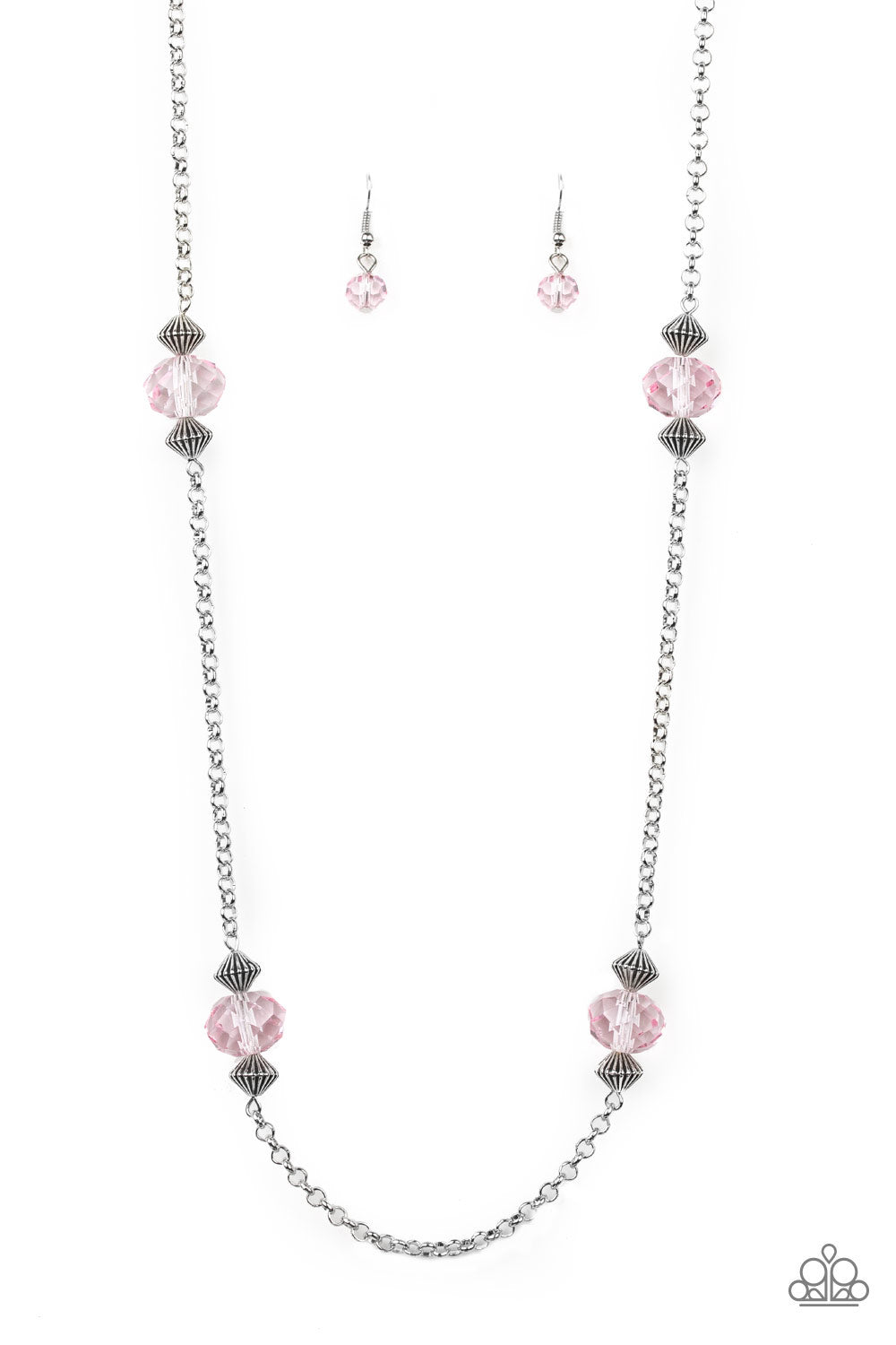 Paparazzi Necklace ~ Season of Sparkle - Pink