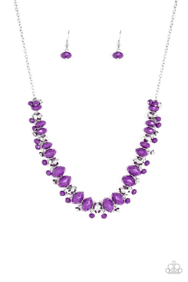 Paparazzi Accessories ~ BRAGs To Riches - Purple