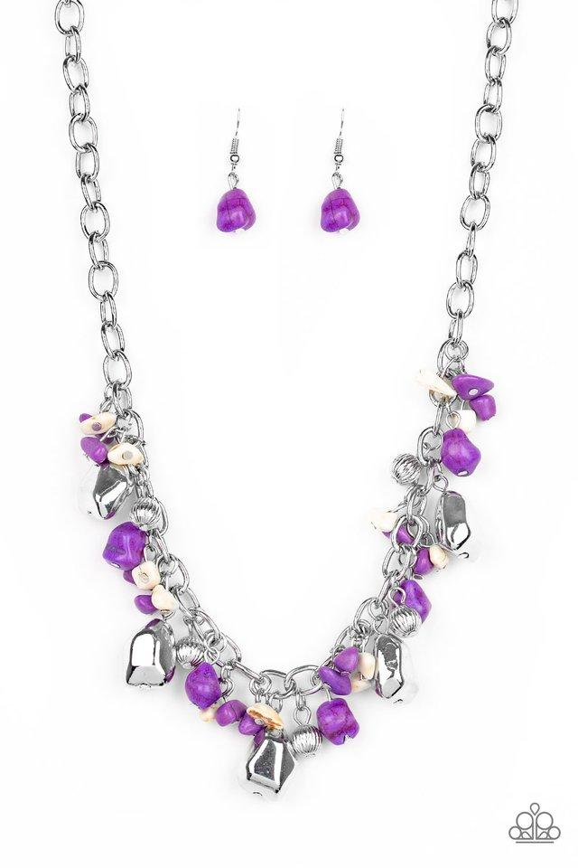 Paparazzi Accessories ~ Quarry Trail - Purple