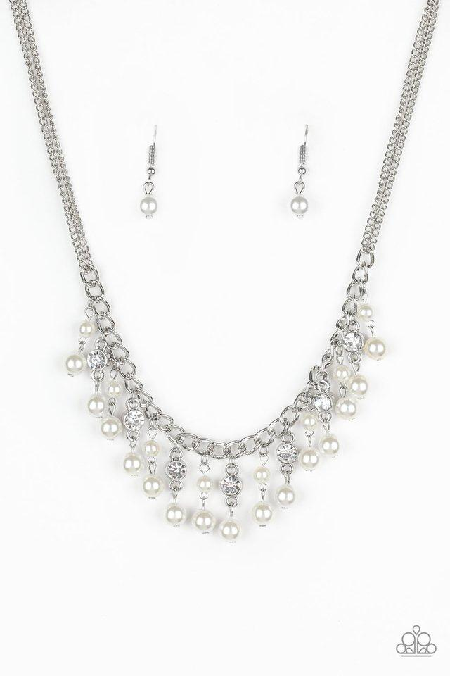 Paparazzi Accessories ~ Regal Refinement - White