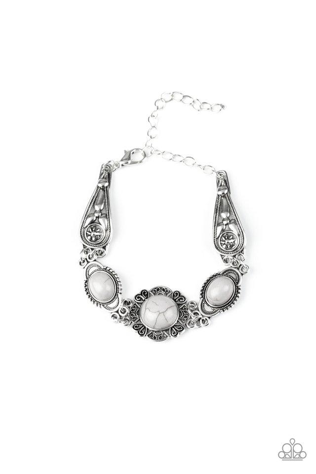 Paparazzi Accessories ~ Serenely Southern - Silver