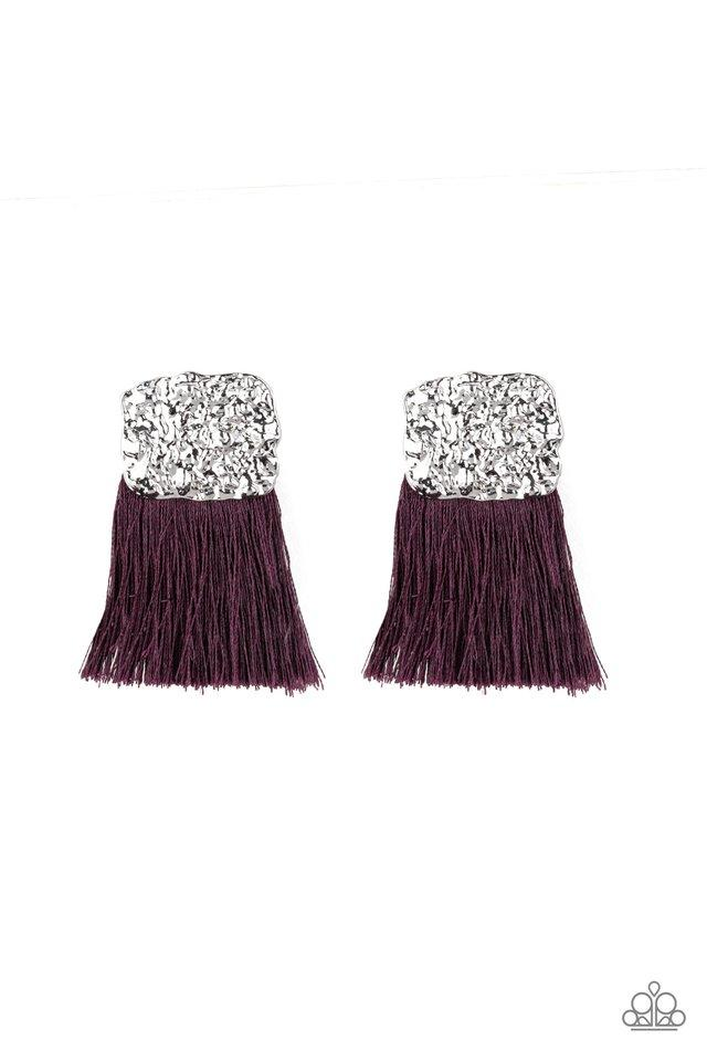 Paparazzi Accessories ~ Plume Bloom - Purple
