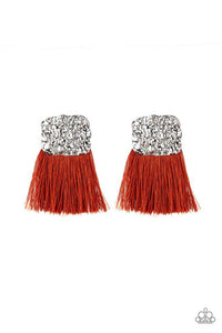 Paparazzi Accessories ~ Plume Bloom - Orange