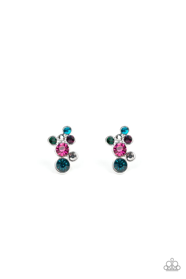 Paparazzi Earring ~ Treasure Treat - Multi
