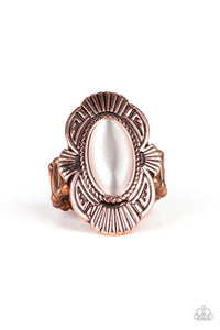 Paparazzi Accessories ~ Oceanside Oracle - Copper