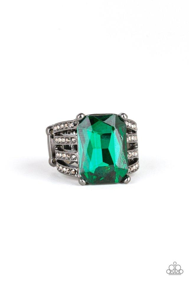 Paparazzi Ring ~ Expect Heavy REIGN - Green
