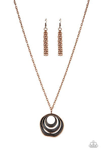 Paparazzi Accessories ~ Breaking Pattern - Copper