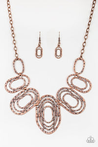 Paparazzi Necklace ~ Empress Impressions - Copper