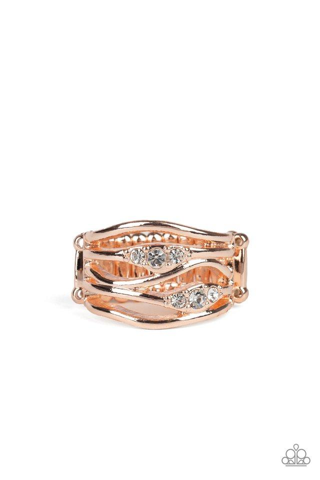 Paparazzi Accessories ~ Cash Dash - Rose Gold